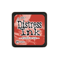 Distress Mini Ink Pad FIRED BRICK