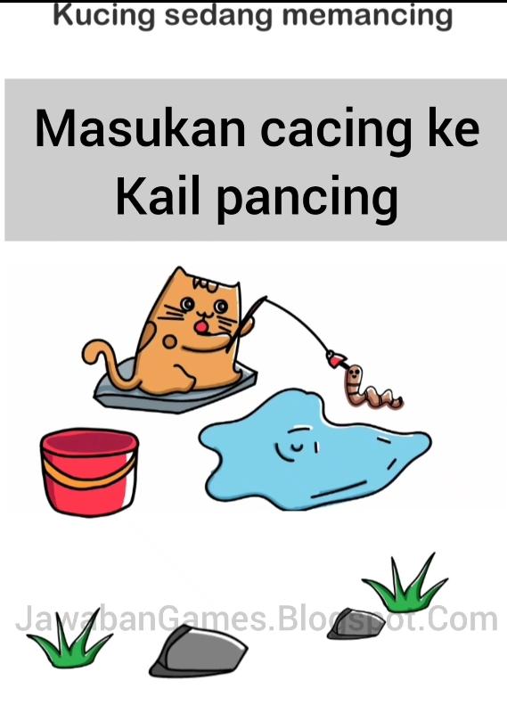 Brain Out Kucing Sedang Memancing : brain, kucing, sedang, memancing, Brain, Level, Kucing, Sedang, Memancing, (Terbaru, 2021)