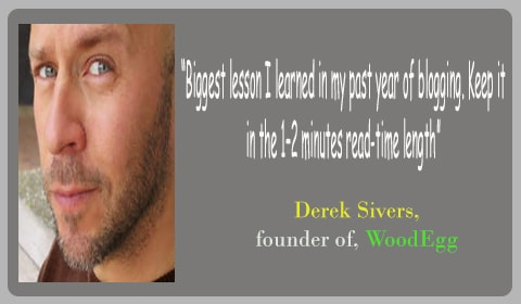 tip blogging derek sivers