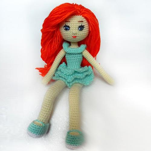 Amigurumi Adele Doll - Free Pattern