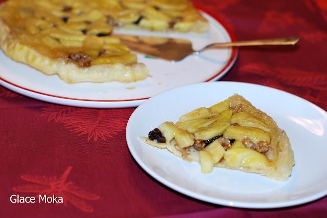 banana-upside-down-cake, tatin-de-platano