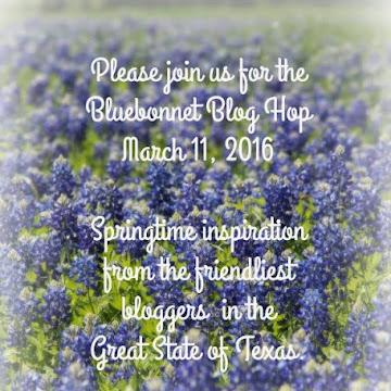 Texas Bluebonnet Blog Hop
