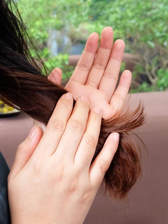 olive oil untuk rambut