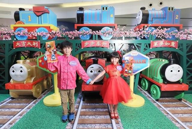 【行大運】Thomas & Friends到達Mikiki 火車總動員同大家拜年