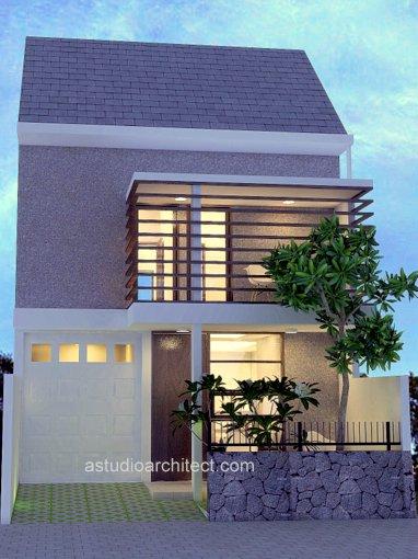 Desain Rumah 2 Lantai di Atas Lahan 150 m2 10x15m house