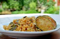 Ρύζι με λαχανικά και τυρί - by https://syntages-faghtwn.blogspot.gr