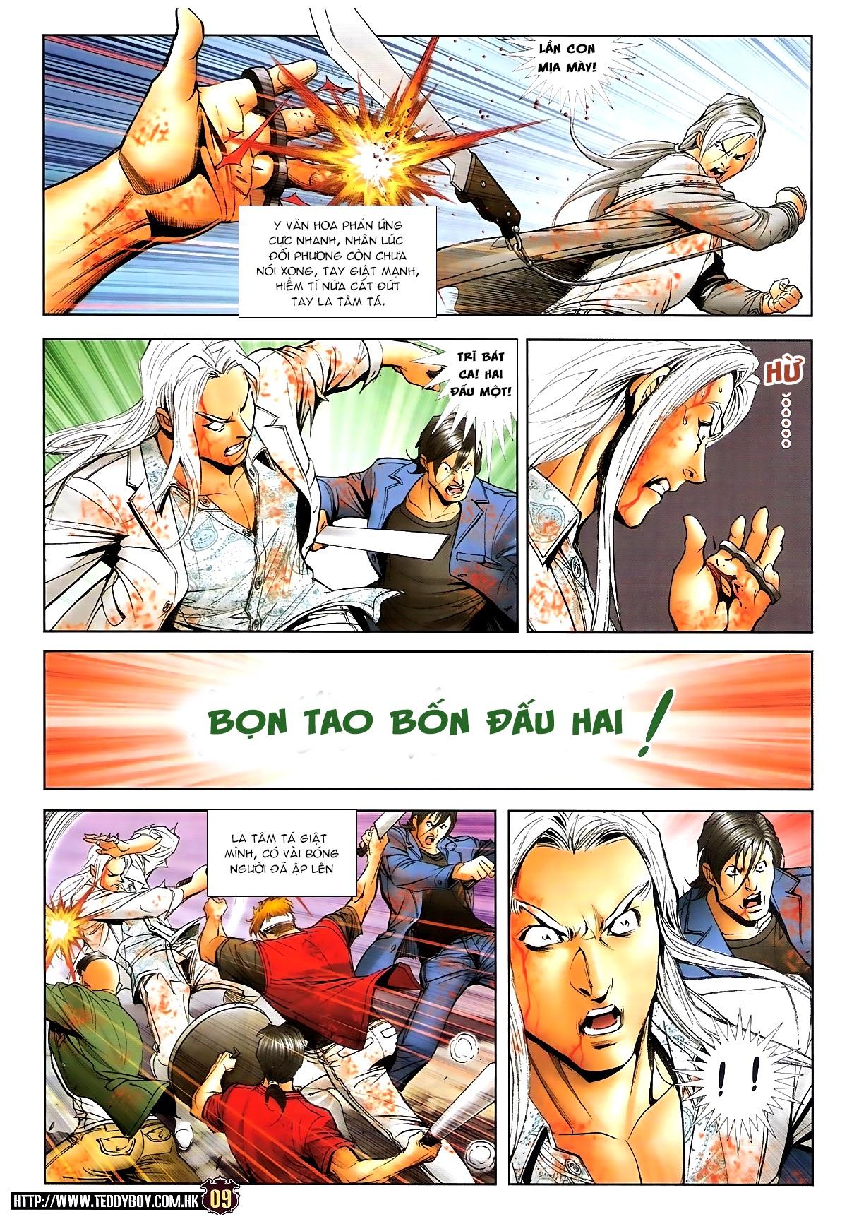 Người Trong Giang Hồ chapter 1703: lịch sử trùng diễn 4 trang 7