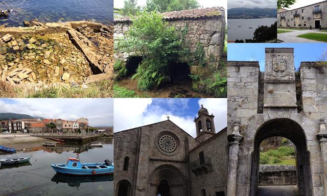 ruta por las rias baixas en galicia