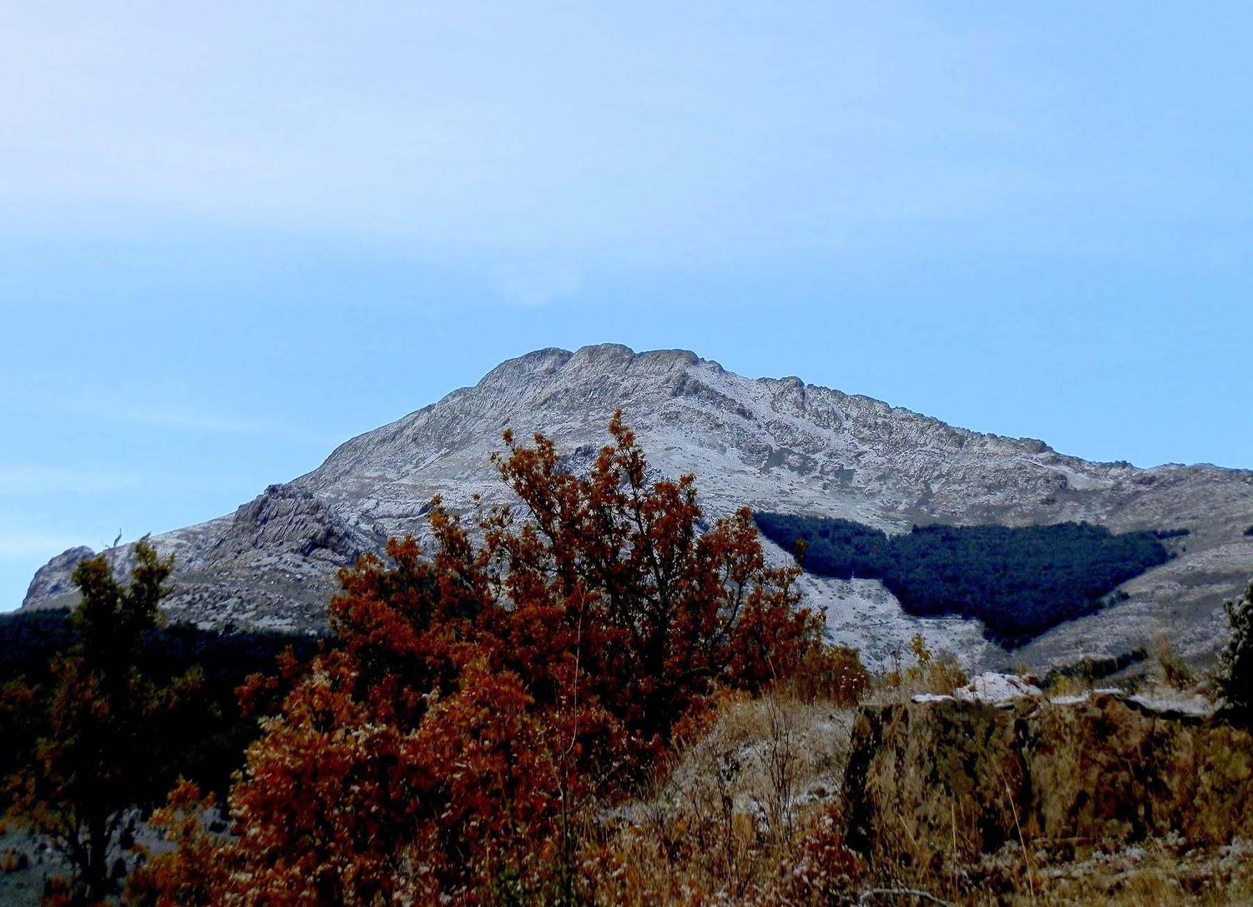 El Ocejon, montaña invernal