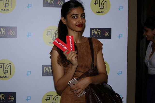 Radhika Apte At Felicite Special Screening Stills