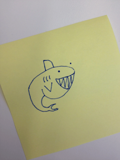 apprendre-a-dessiner-un-requin-3 Comment dessiner un requin