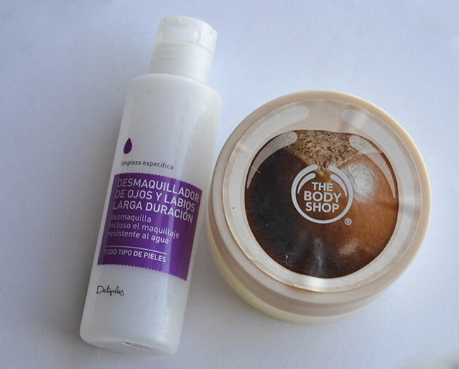 Exfoliante the body shop