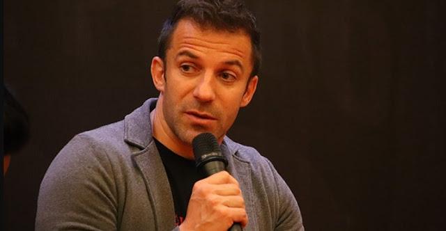 Aksi Teror, Del Piero: Tugas Pesepak Bola Sampaikan Pesan Perdamaian