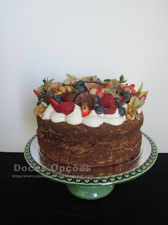 sugar free naked cake