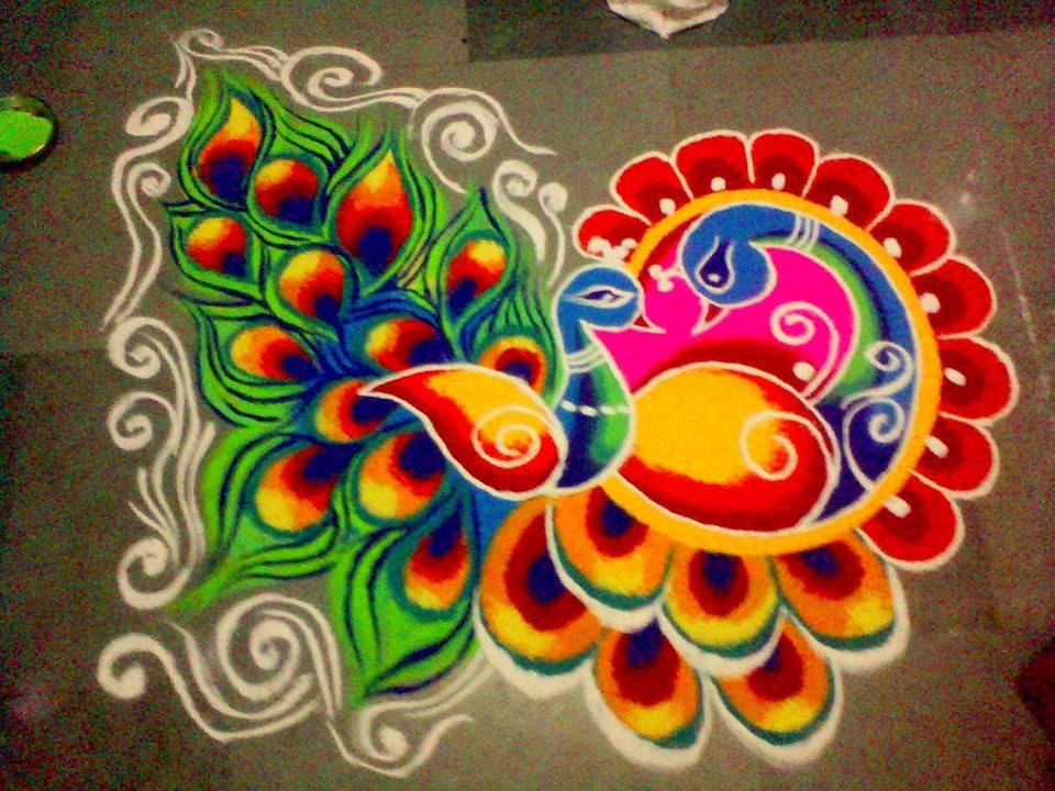 15 Best Colourful Rangoli Designs and Patterns | Styles At ...