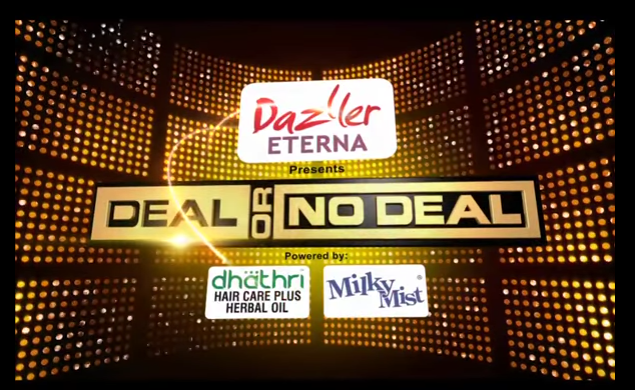 Deal or No Deal game show on Malayalam Channel Surya TV