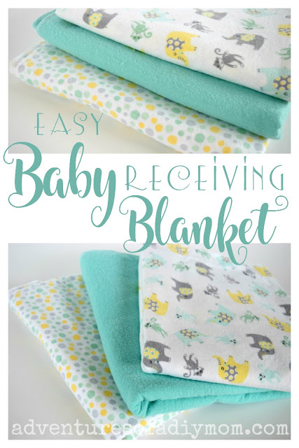 Easy Baby Receiving Blanket