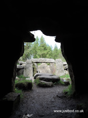 View from Cave / Tomb, Druid's Temple, Ilton, Yorkshire
