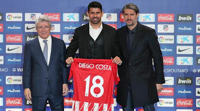 Debut Gol Pertama Diego Costa