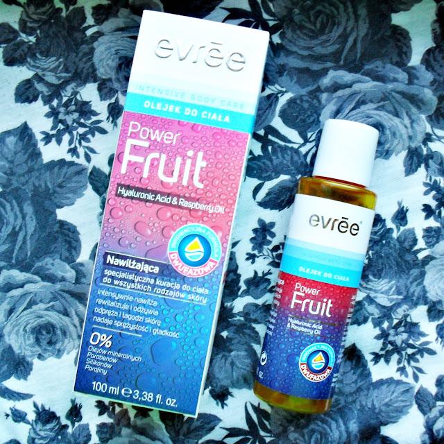 EVREE   Power Fruit   Nawiżająca specjalistyczna kuracja do wszystkich rodzajów skóry