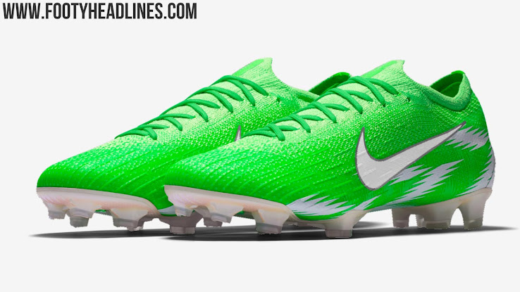 buy popular f1828 12e51 Leroy Sané Trains In Nike Mercurial 360 Nigeria Leaked ...