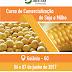 Redução de riscos na comercialização de milho e soja é tema de curso em Goiânia