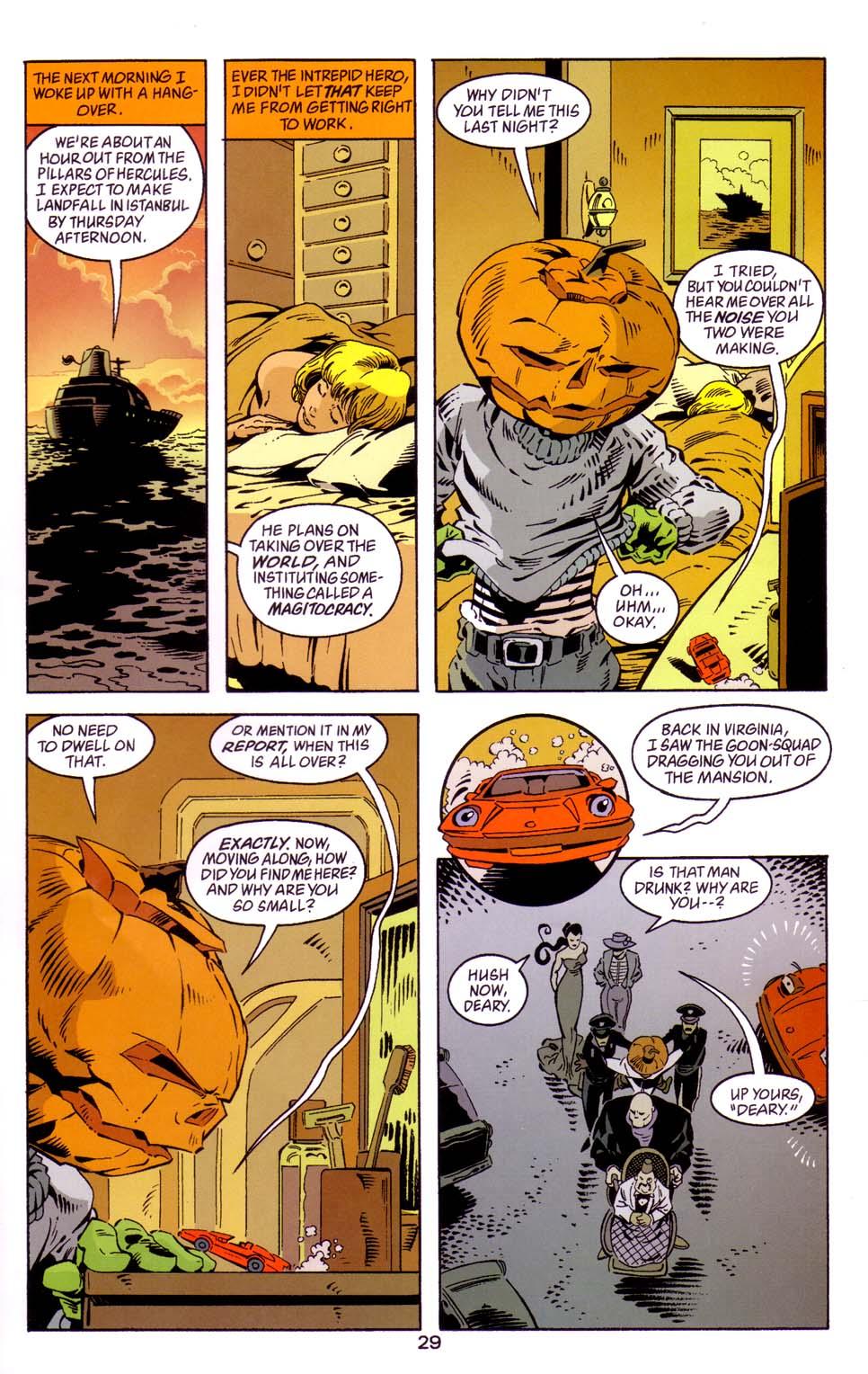 Read online Merv Pumpkinhead, Agent of D.R.E.A.M. comic -  Issue # Full - 30