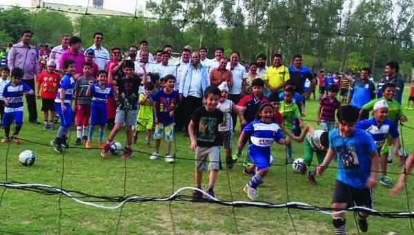 पंजाब स्पोर्टस क्लब द्वारा 17वें फुटबाल समर कैम्प का आयोजन