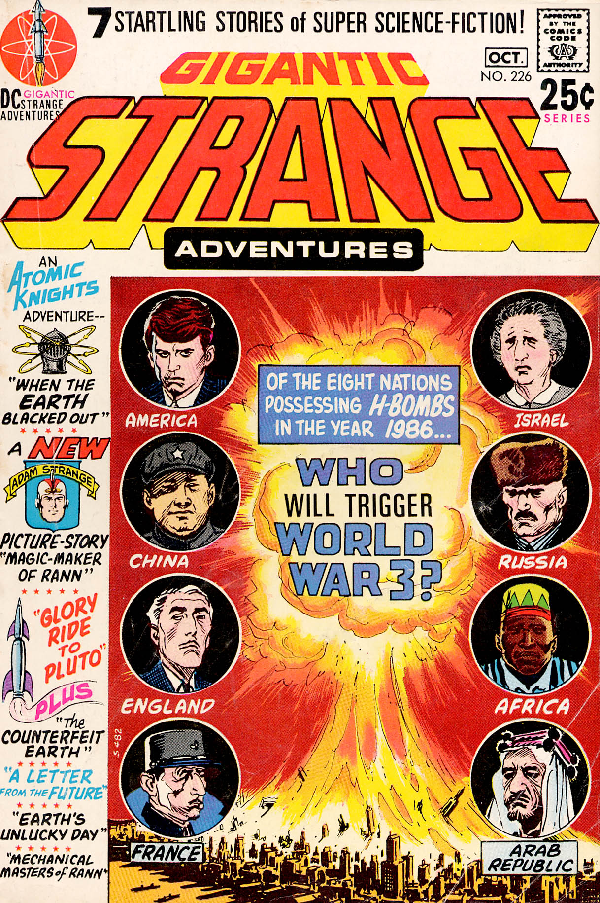 Strange Adventures (1950) issue 226 - Page 1