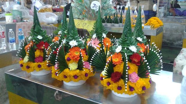 Mercado de las Flores - Centros de flores