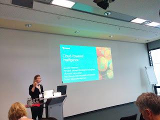 Jennifer Marsman von Microsoft auf der next IT Con