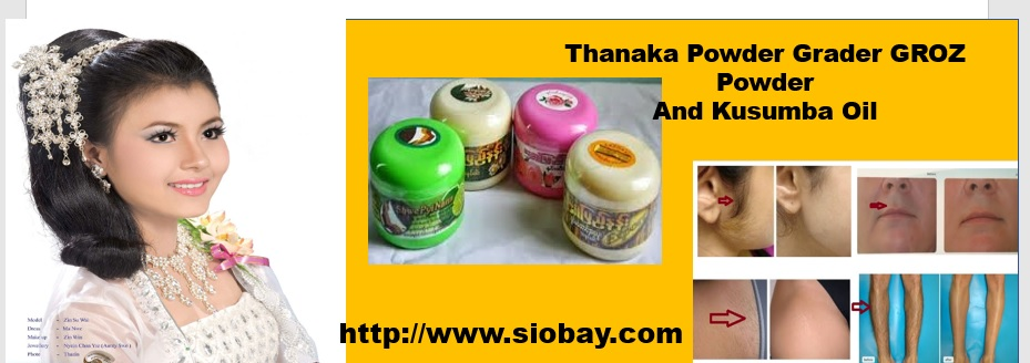 Krozenwart 08152054076 Thanaka Powder And Kusumba Oil Natural