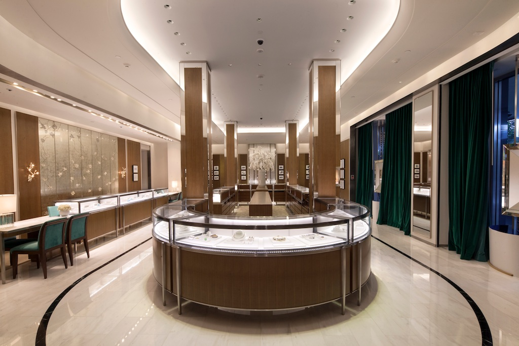 Redesigned Tiffany & Co. Bal Harbour Shops store