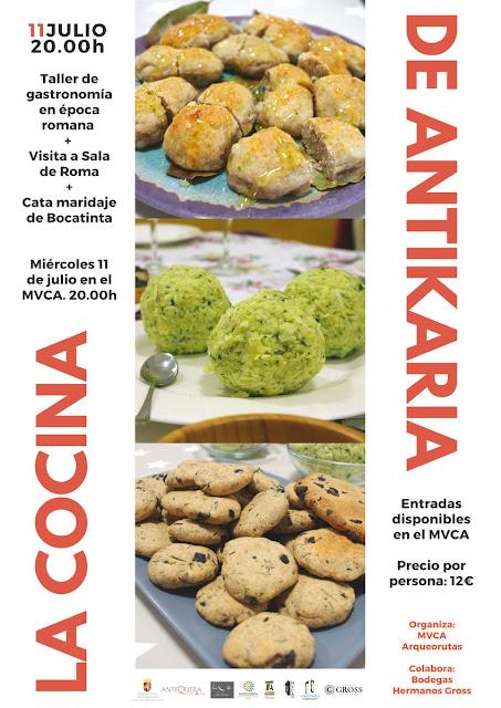 La Cocina de Antikaria en el Museo de Antequera