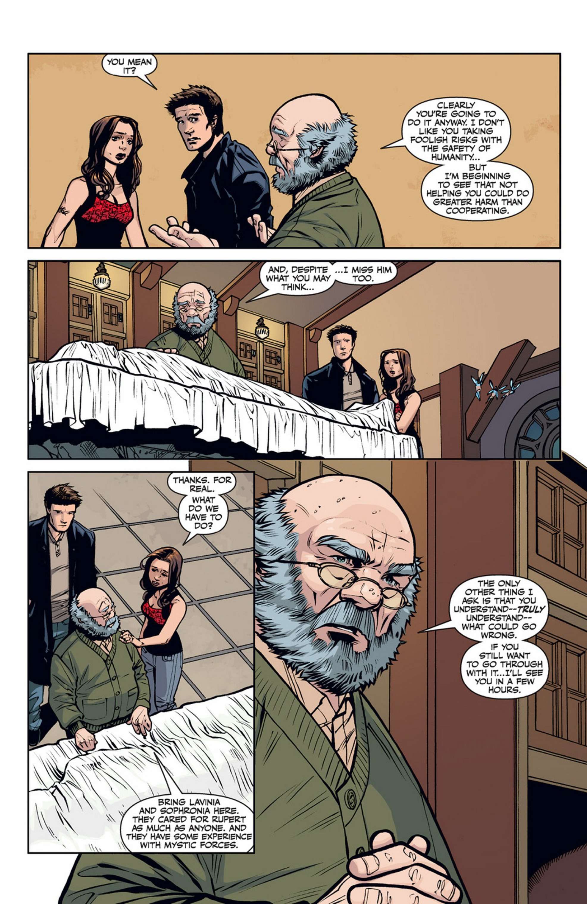 Read online Angel and Faith comic -  Issue #21 - 13