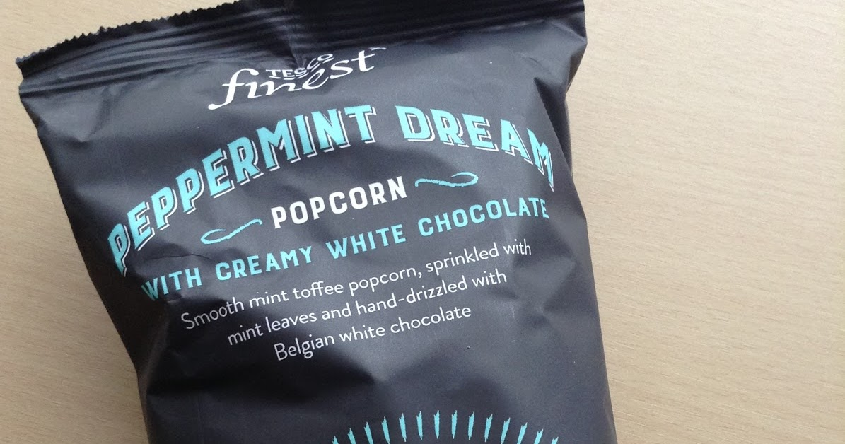 Tesco Finest Peppermint Dream Popcorn With White Chocolate