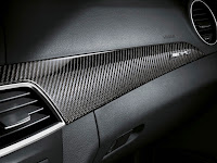2011 Mercedes C63 AMG Coupé Black Series Interior emblem logo number series special