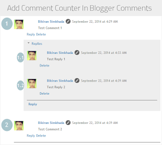 Cara Membuat Comment Counter di Komentar Blogger