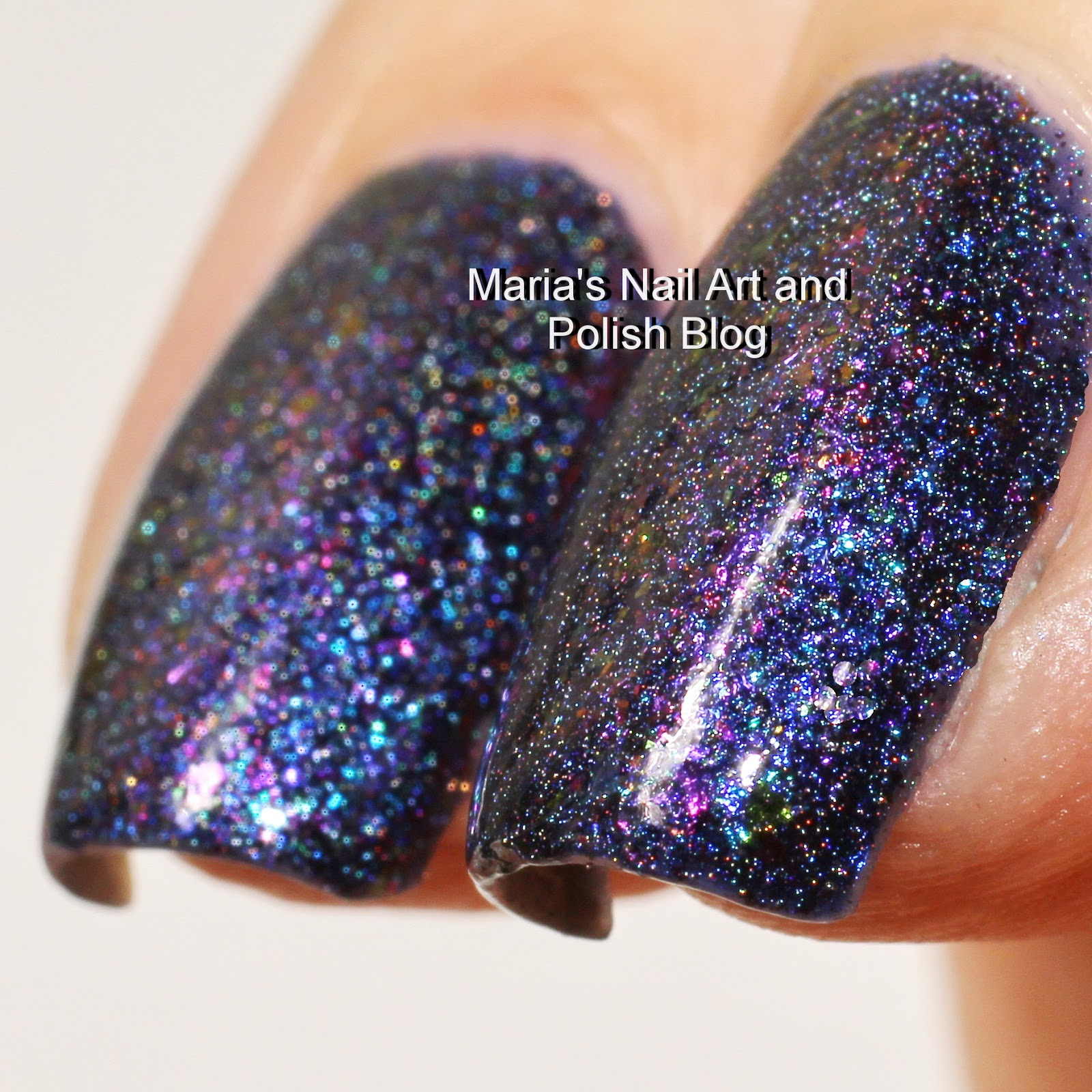 Piggieluv Freehand Stairway To Heaven Nail Art: Marias Nail Art And Polish Blog: Powder Perfect Vault Of