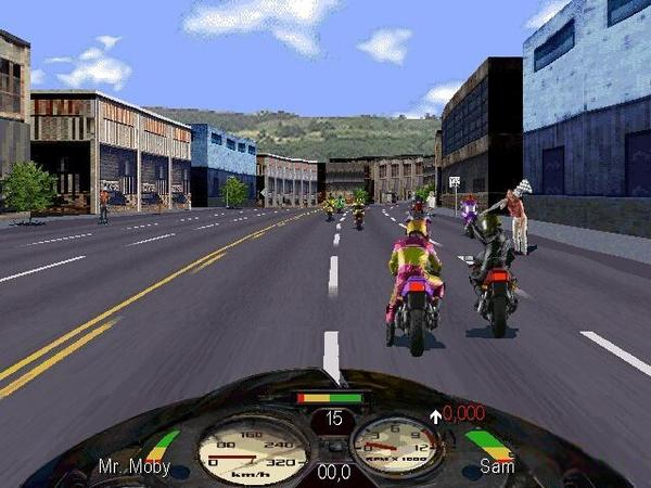 Road Rash 2002 Game Play