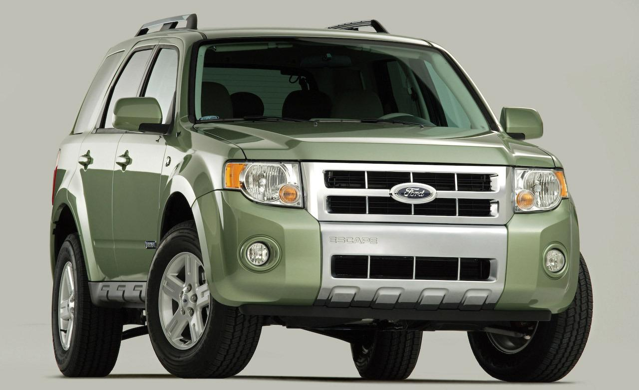 Ford Escape World Of Cars Ford Escape Hybrid