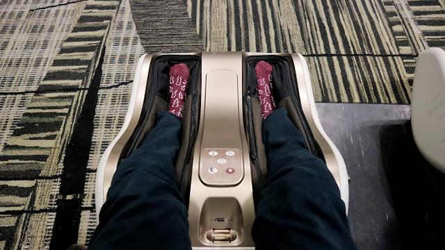 kursi pijat gratis terminal 4 changi airport singapura riyardiarisman