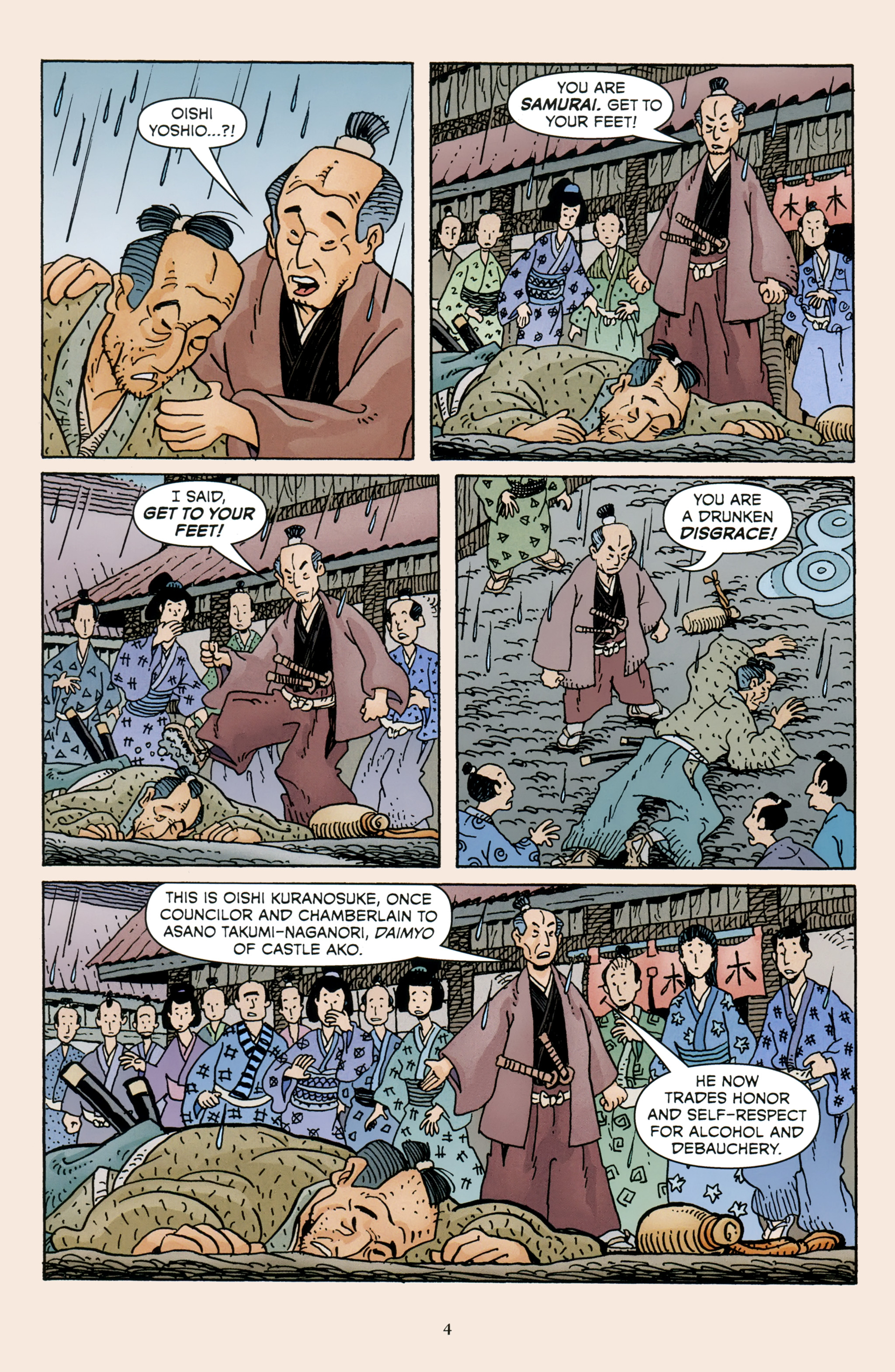 Read online 47 Ronin comic -  Issue #4 - 6