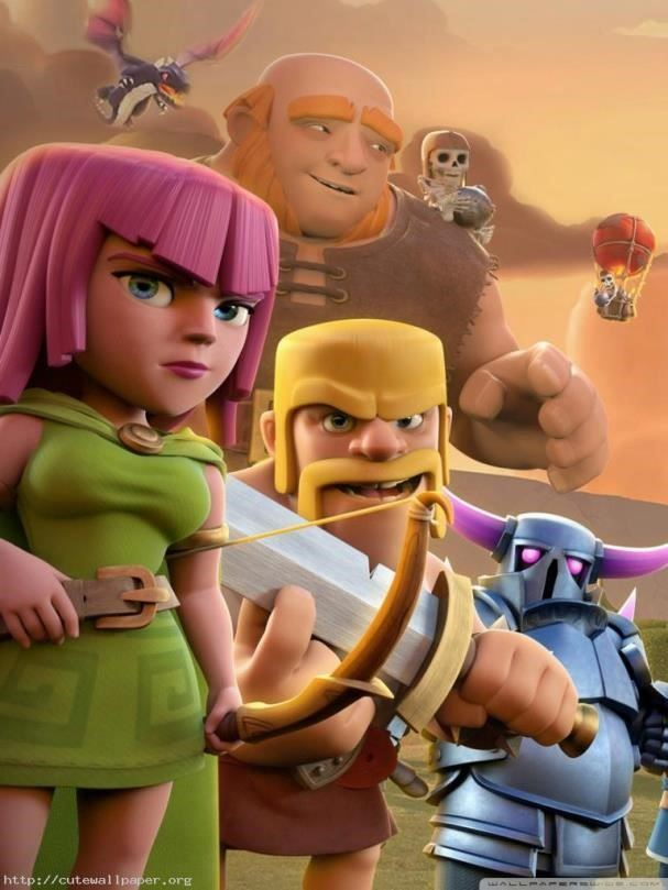 clash of clans wallpaper android