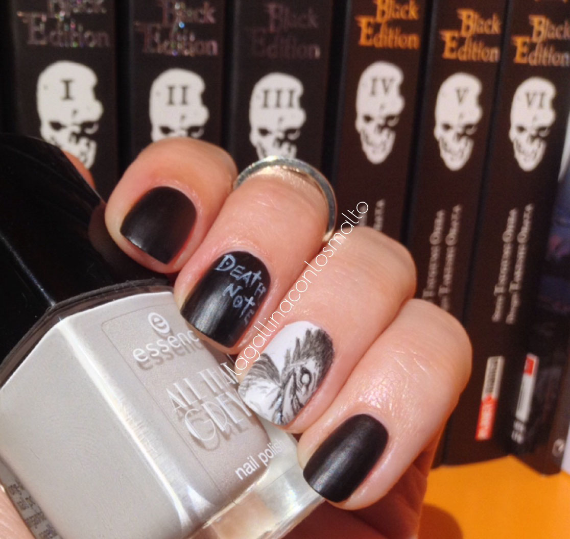 La Gallina Con Lo Smalto: -Otaku Nail- Death Note