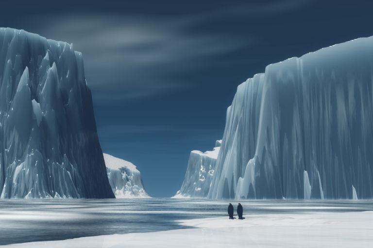 Ngeri, Ternyata Ada Kehidupan di Bawah Lapisan Es Antartika