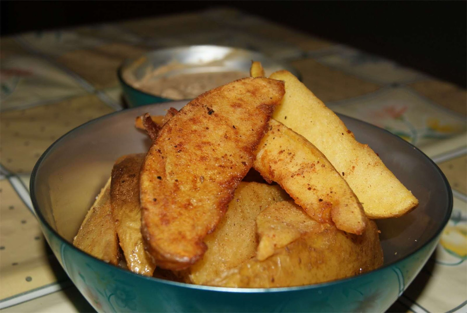receta de patatas gajo o patatas deluxe