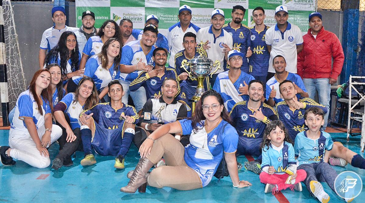 AirLab Futsal é campeão da Copa Verão em Caieiras