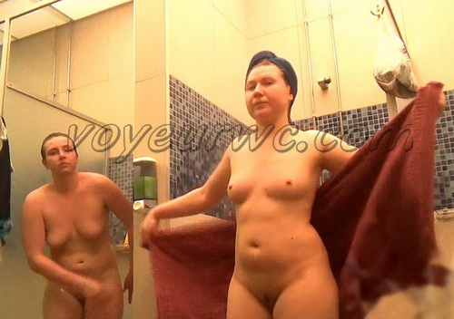 Showerroom 1518-1530 (Public shower room spy cam. Shower room fitness gym  hidden cams)