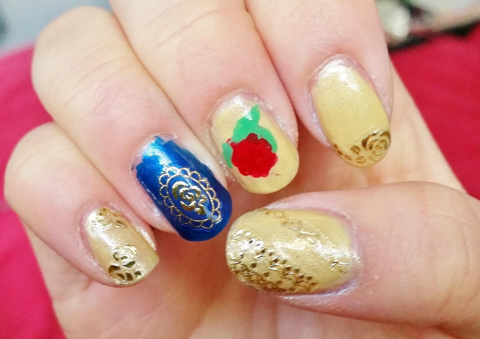 Beauty In Everyday Life Disney Princess Series Nail Art Beauty And